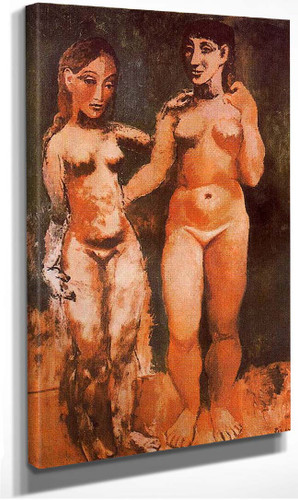 Two Nude Women 1906 By Pablo Picasso