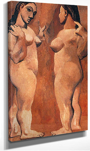 Two Nudes5 By Pablo Picasso