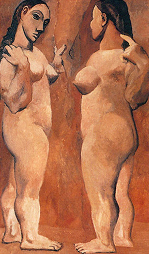 Two Nudes5 By Pablo Picasso Art Reproduction from Wanford