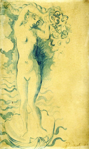 Venus And Cupid 1905 By Pablo Picasso Art Reproduction from Wanford