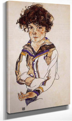 Young Boy 1918 By Egon Schiele
