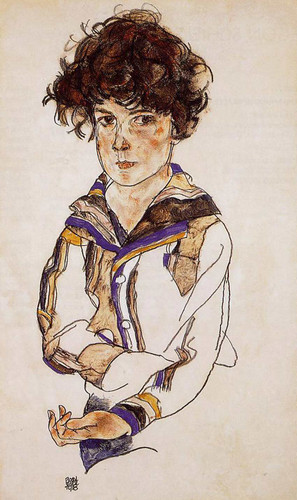 Young Boy 1918 By Egon Schiele Art Reproduction from Wanford
