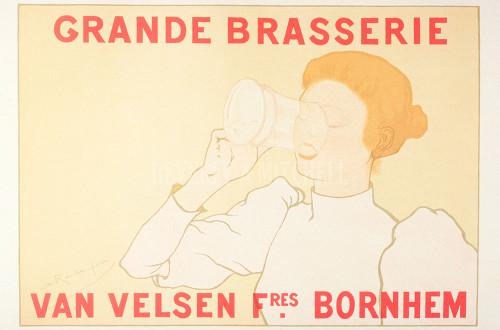 12 Grand Brasserie Armand Rassenfosse Maitres De Affiche By By 28610