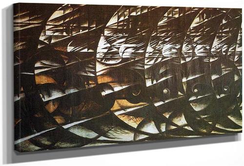 Abstract Speed 1913 By Giacomo Balla