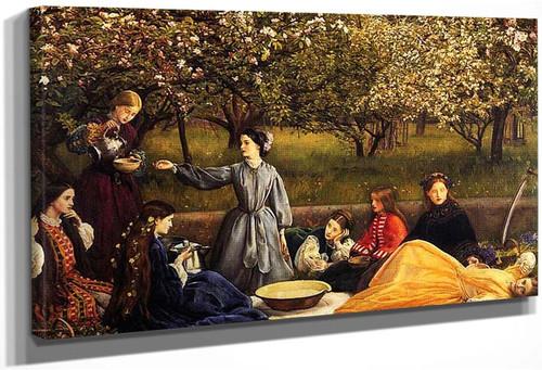 Apple Blossoms 1859 By John Everett Millais