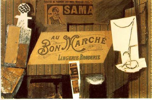 Au Bon Marche 1913 By Pablo Picasso