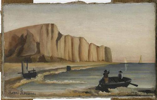 Cliffs By Henri Rousseau