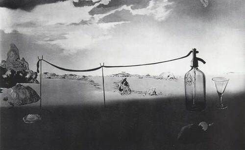 Enchanted Beach Long Siphon By Salvador Dali