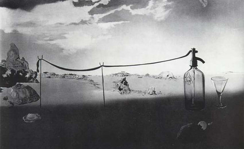 Enchanted Beach Long Siphon By Salvador Dali