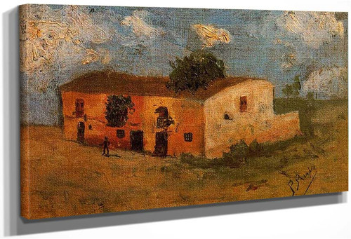 House In The Field 1893 By Pablo Picasso