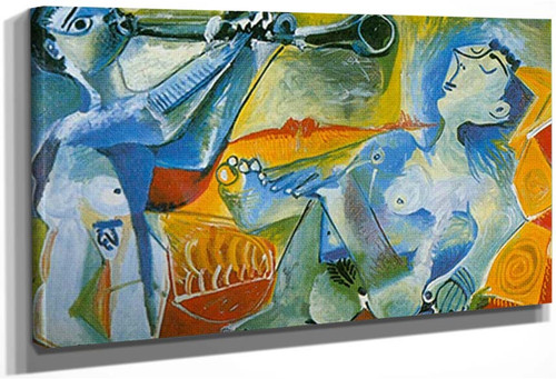 L Aubade By 1 By Pablo Picasso