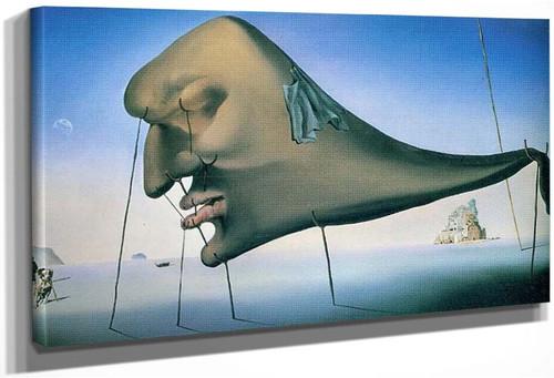 Le Sommeil By Salvador Dali