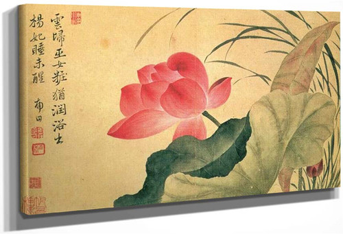 Lotus Flower By Yun Shouping