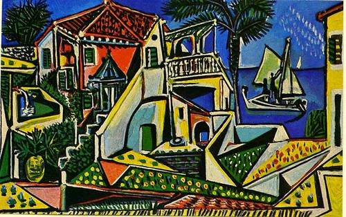 Mediterranean Landscape 1952 By Pablo Picasso