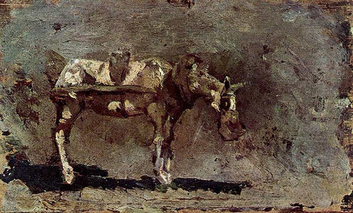 Mule By Pablo Picasso