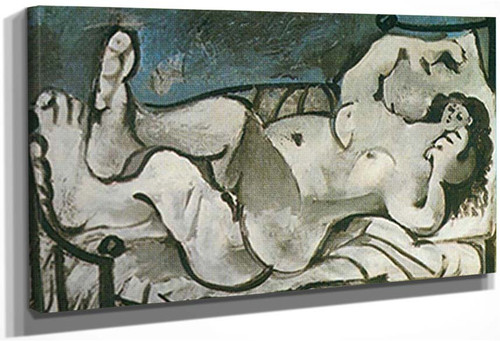 Reclining Nude By 1 By Pablo Picasso