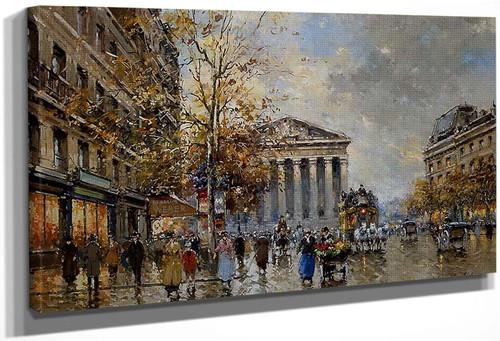 Rue Royal Madeleine 3 By Antoine Blanchard