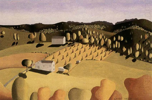 Some Of Corn 1931 By Grant Wood