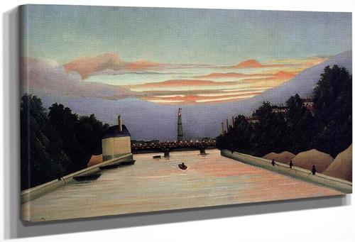 The Eiffel Tower By Henri Rousseau
