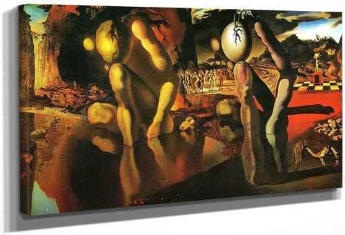 The Metamorphosis Of Narcissus By Salvador Dali