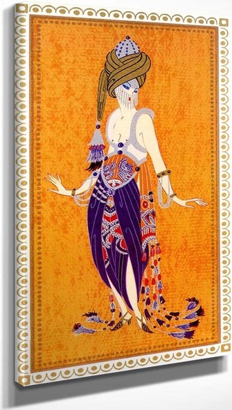 Sheerazade A Thousand And One Nights By Erte