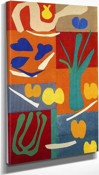 Vegetables 1952 By Henri Matisse