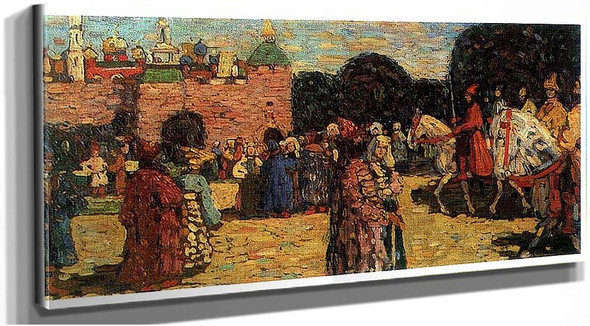Ancient Russia 1904 By Wassily Kandinsky