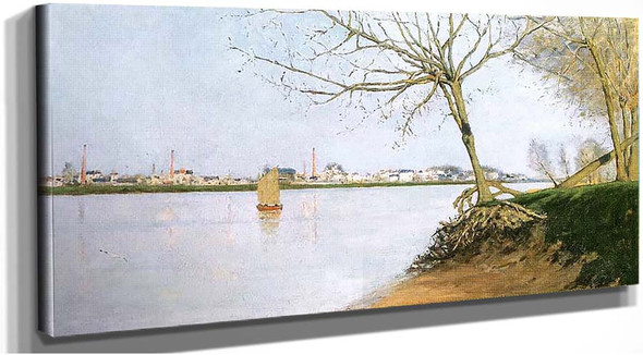 Banks Of The Loire By Maxime Maufra
