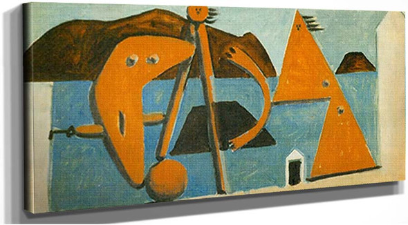 Bathers On The Beach6 By Pablo Picasso