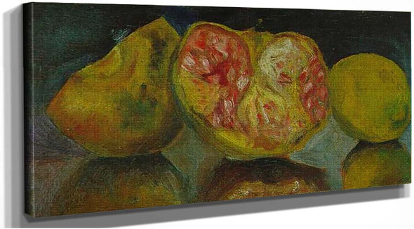 Still Life Pomegranates By Salvador Dali