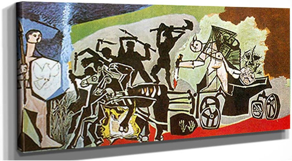 War By 1 By Pablo Picasso