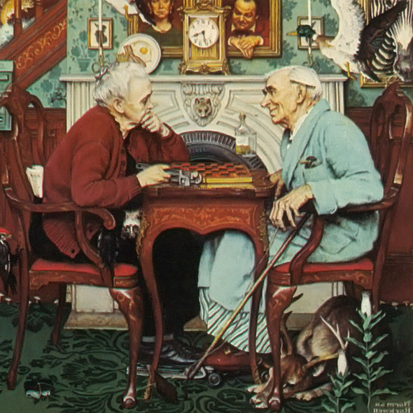 April Fools by Norman Rockwell Print