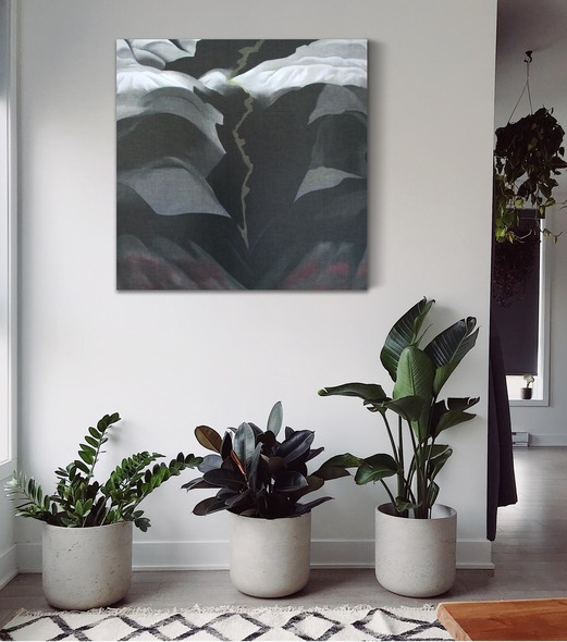 Black Place Iii by Georgia O Keeffe