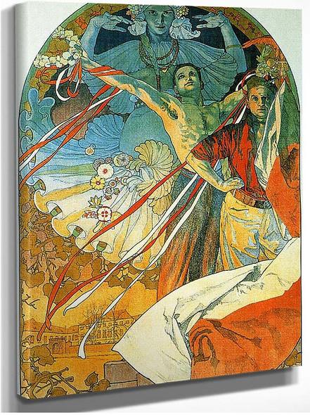 8Th Sokol Festival 1912 By Alphonse Mucha