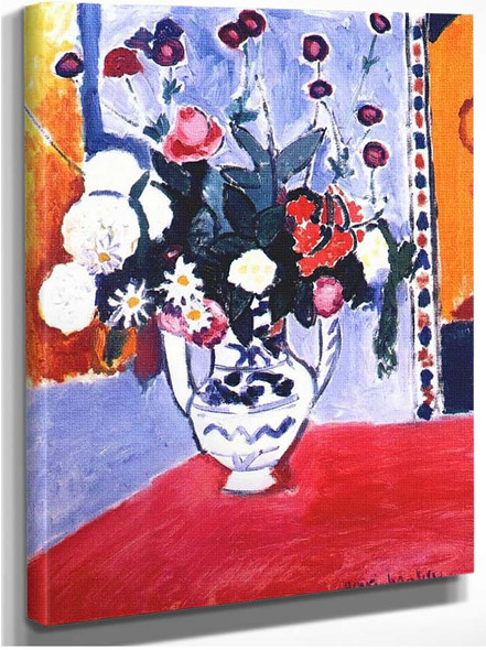 A Bunch Of Flowers 1907 By Henri Matisse