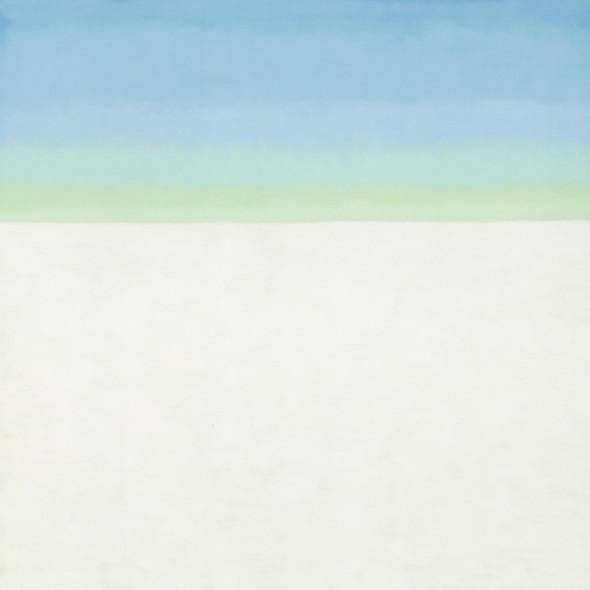 Sky With Flat White Cloud by Georgia O Keeffe Print