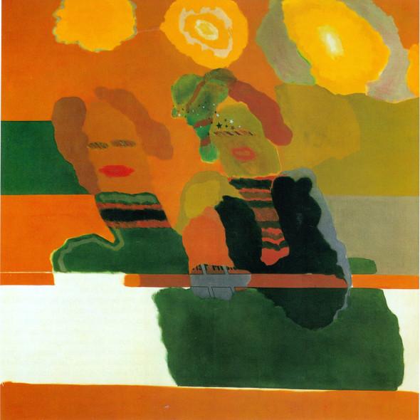 Something Like Sisters 1962 by Allen Jones Print