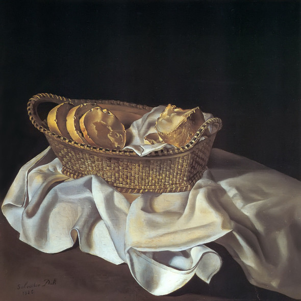 The Basket Of Bread by Dali Print