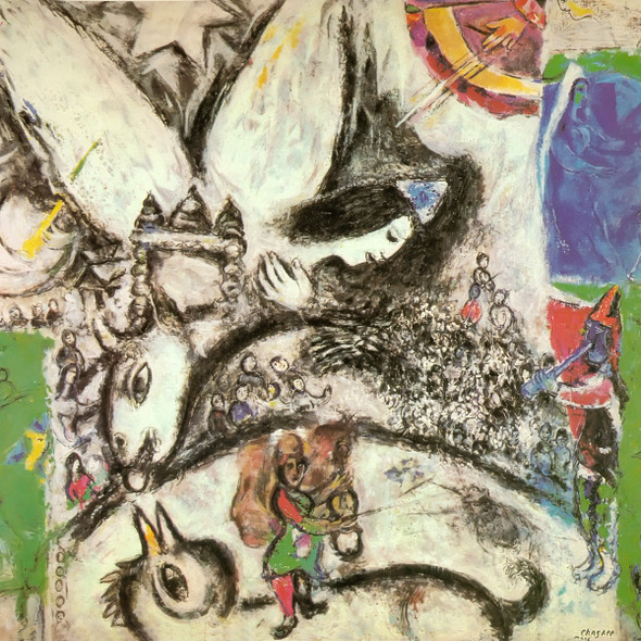 The Big Circus by Marc Chagall Print