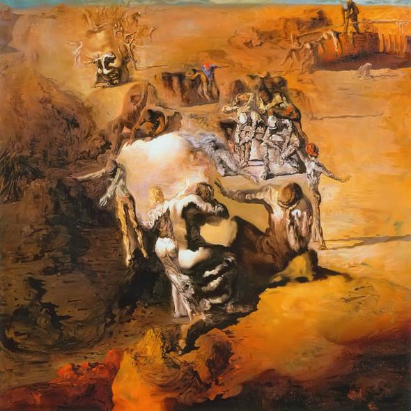 The Great Paranoiac by Salvador Dali Print