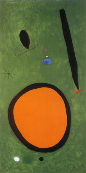 Birds Flight In Moonlight 3 10 1967 by Joan Miro Print