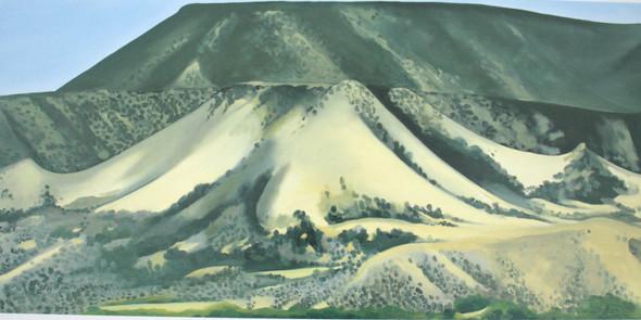 Abiquiu Country 1944 by Georgia O Keeffe Print