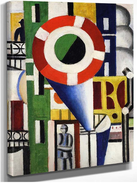 A Disc In The City 1919 By Fernand Leger