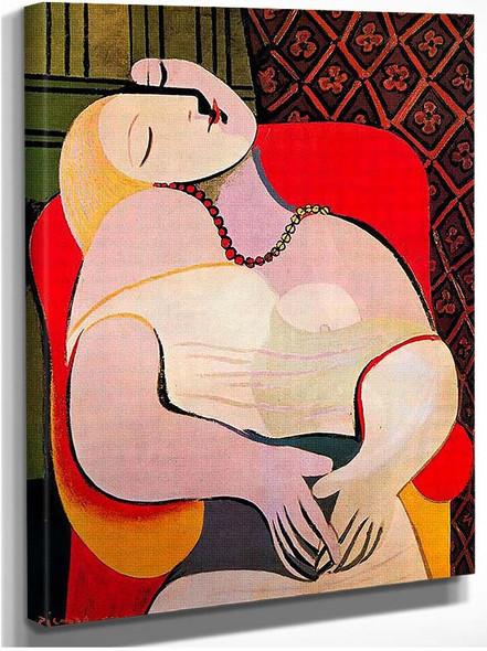 A Dream 1932 By Pablo Picasso