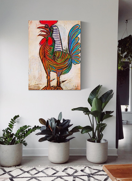A Rooster 77x54 by Picasso
