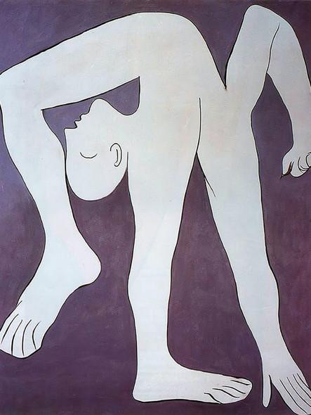 Acrobat Museum Picasso Paris France by Picasso Print