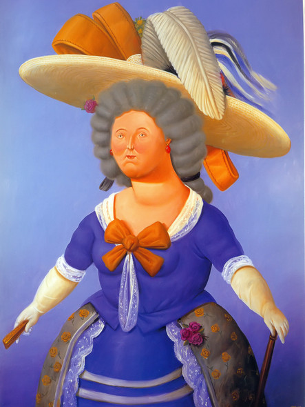 After Goya by Botero Print