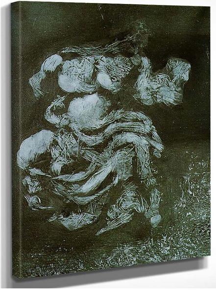 A Fate Of The Parthenon By Salvador Dali