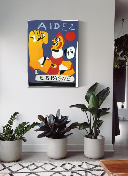 Aidez Iespagne (Help Spain) by Joan Miro