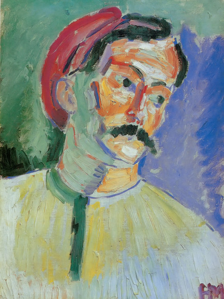 Andre Derain by Henri Matisse Print